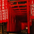 Torii at Hie Shrine