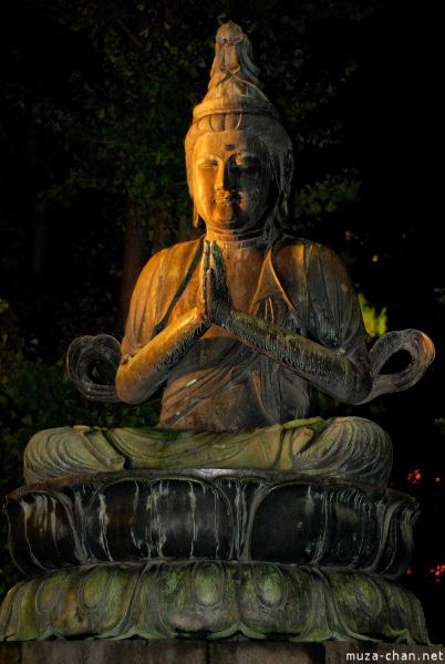Buddha statue at Senso-ji Temple, Tokyo