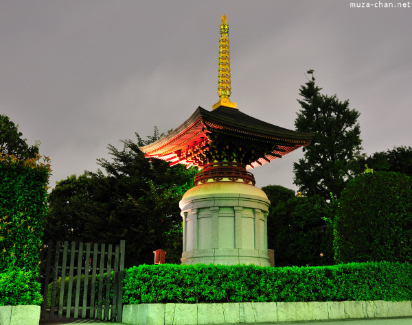 Shakyo Pagoda at Senso-ji Temple