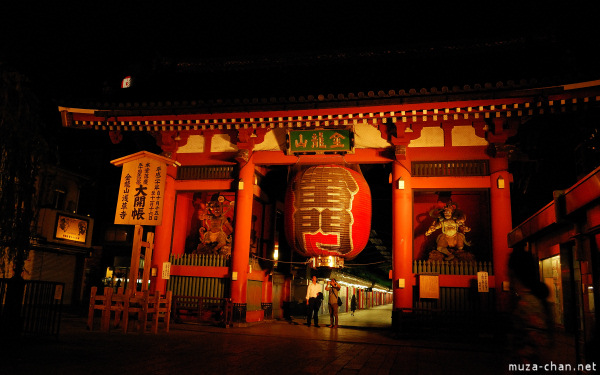 Kaminarimon Gate at Senso-ji Temple