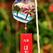 Furin at Chinese Lantern Plant Fair at Senjo-ji Temple