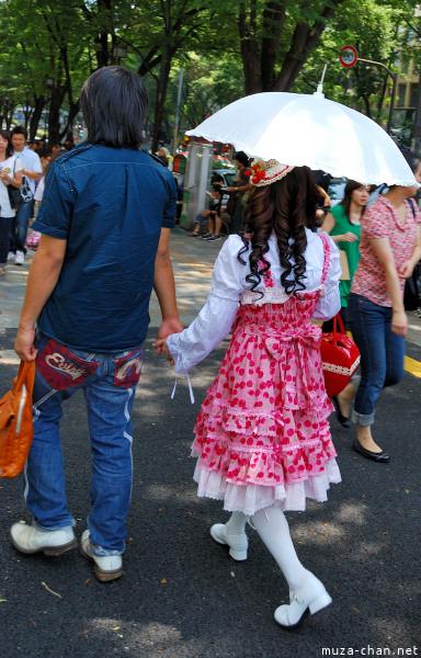 Lolita style in Harajuku, Tokyo