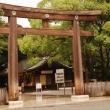 The third torii at Meiji Jingu