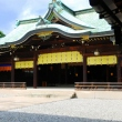 Naihaiden (the Inner Shrine) at Meiji Jingu