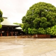 Panorama of Meiji Jingu main yard