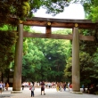 The second torii at Meiji Jingu Shrine