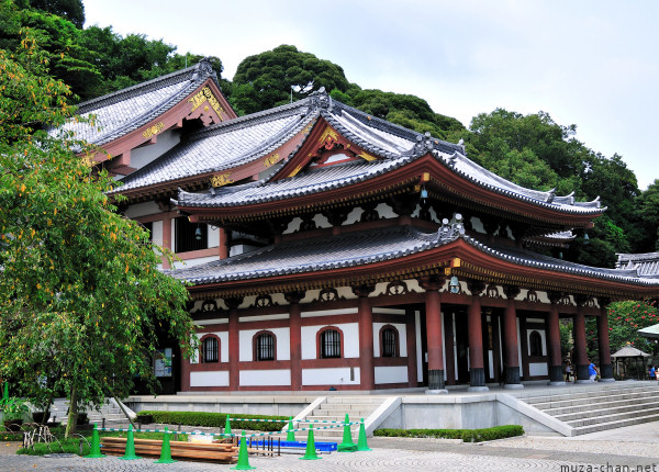 Kannon-do Hall  Kamakura Hasedera Temple