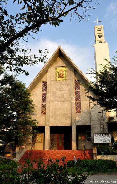 Yukinoshita Roman Catholic Church Kamakura
