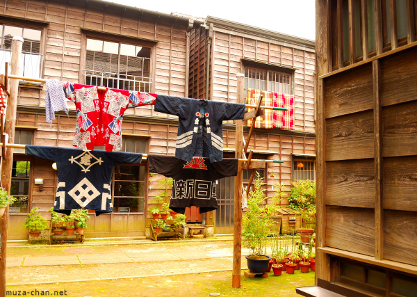 Shitamachi-Naka Street at Edo Tokyo Open Air Museum, Tokyo