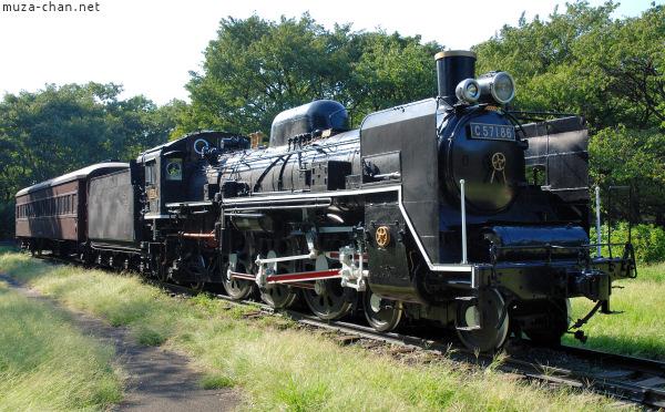 JR Steam Locomotive class C57