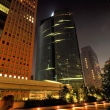 Shiodome at night