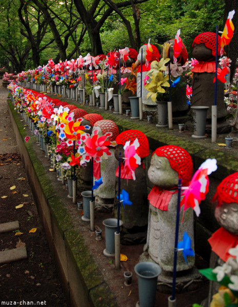Jizo Rows, Zojo-ji Temple, Tokyo