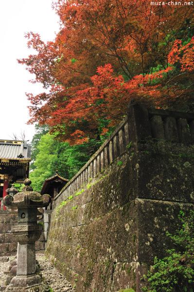 The walls of  Rinno-ji Temple, Nikko