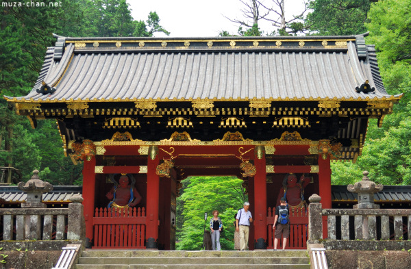 Niomon Gate at Mausoleum Rinno-ji Taiyuin