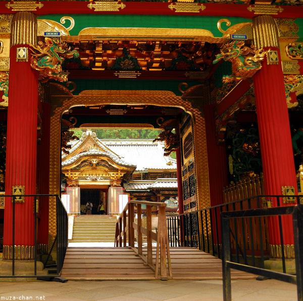 Yashamon Gate (Peony Gate) at Mausoleum Rinno-ji Taiyuin, Nikko