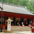 The main hall (honden) at Futarasan Shrine