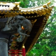 The imaginary elephant on the The Bell Tower at Toshougu Shrine