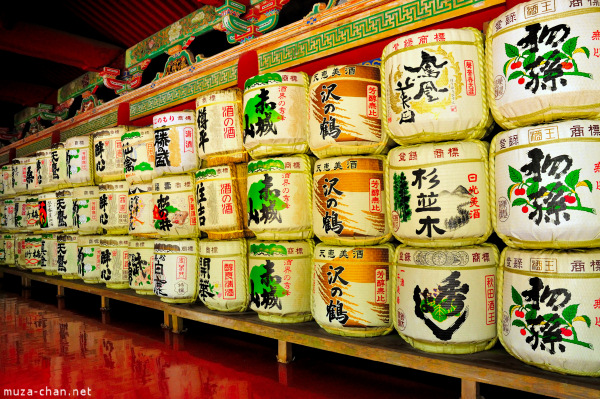 Sake barrels at Toshougu Shrine, Nikko