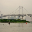 Rainbow Bridge view from Aqua City Odaiba