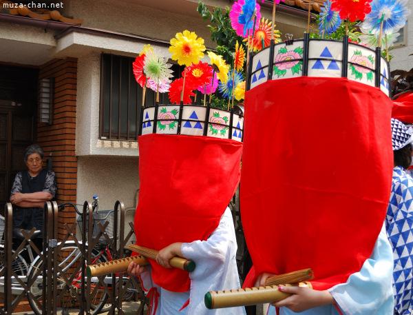 Mizudome-no-Mai (Rain-Stopping Dance) Gonshoji Temple