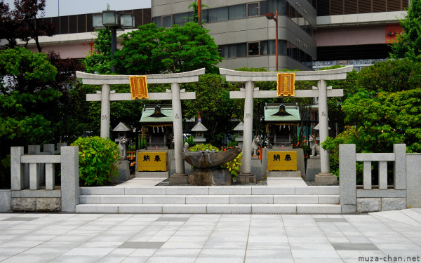 Shinto Shrine from Ryogoku Kokugikan
