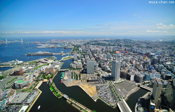 View from Landmark Tower Yokohama
